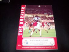 Kidderminster Harriers v Northwich Victoria, 1991/92